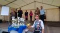 Pokale für Rallyeteilnehmer