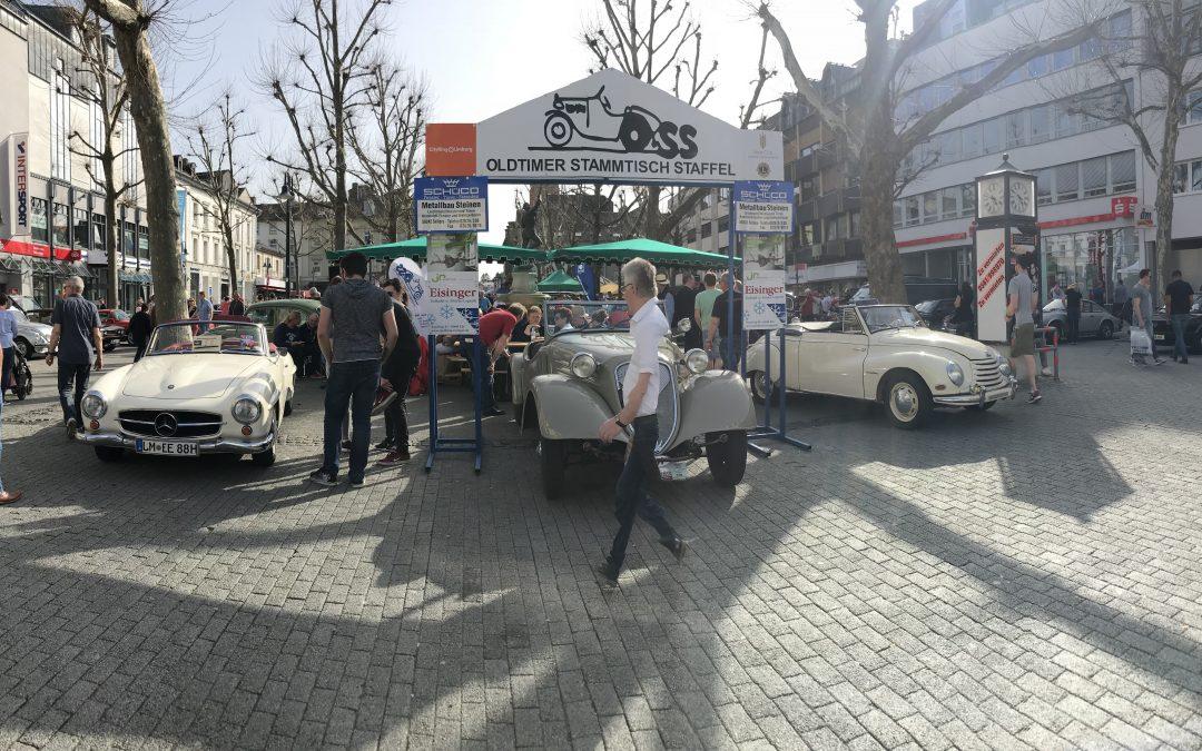 Oldtimer Classic und Verlosung am 8.4.2018 in Limburg