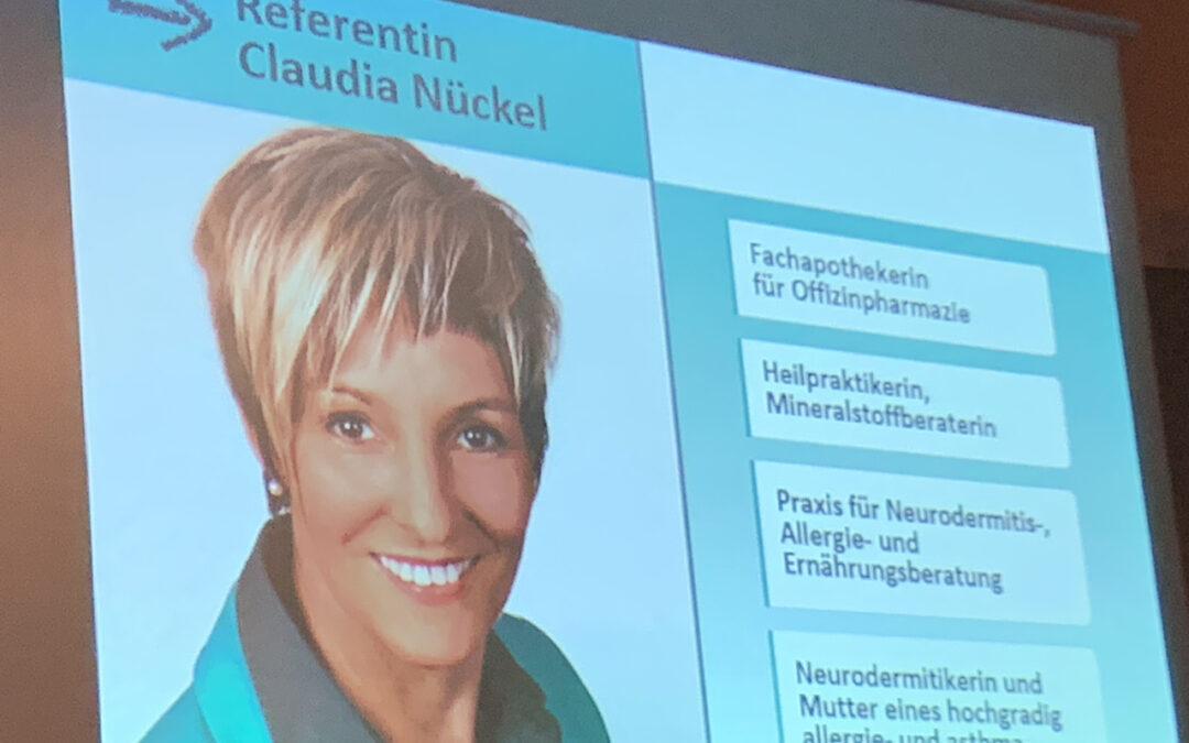 Vortrag Claudia Nückel am 4.3.2019