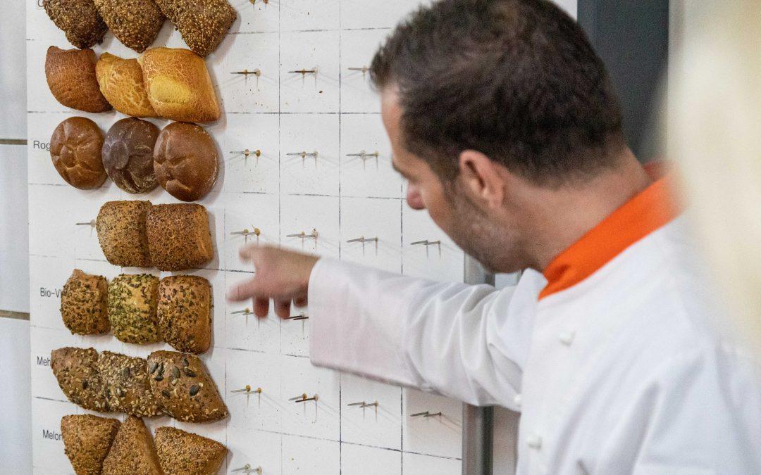 Besichtigung der Bäckerei Huth