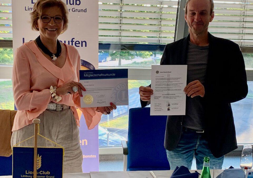 Clubabend und Aufnahme Prof.Dr. Andreas Gattinger am 08.06.2020 bei Anna, Dr. Fischer Group