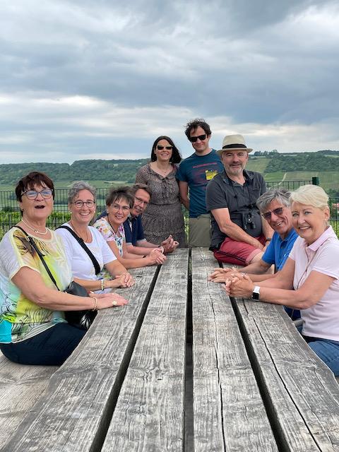 Weinreise nach Ingelheim am Rhein im Juni 2021